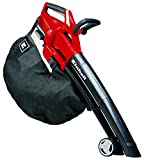 Einhell cordless leaf vacuum leaf blower GE-CL 36 Li E Power X-Change (Li-Ion, 2 x 18 V, 210 km / h air speed, brushless motor, 45 l collection bag, carrying strap, incl. 2x 3 Ah batteries and charger)
