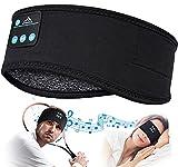 Schlafkopfhörer Bluetooth Geschenke für Frauen/Männer - Schlaf Kopfhörer Vatertagsgeschenk Personalisiert Sleepphones mit Ultradünnen HD Stereo Lautsprecher, Super Weich SchlafKopfhörer für Schlaf