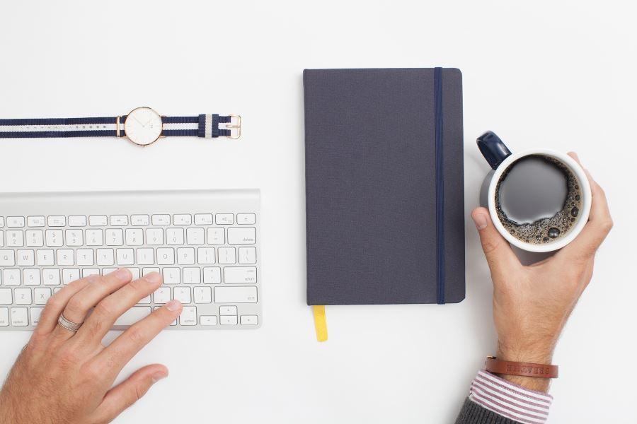 Eine leise Tastatur sorgt für mehr Ruhe beim Tippen