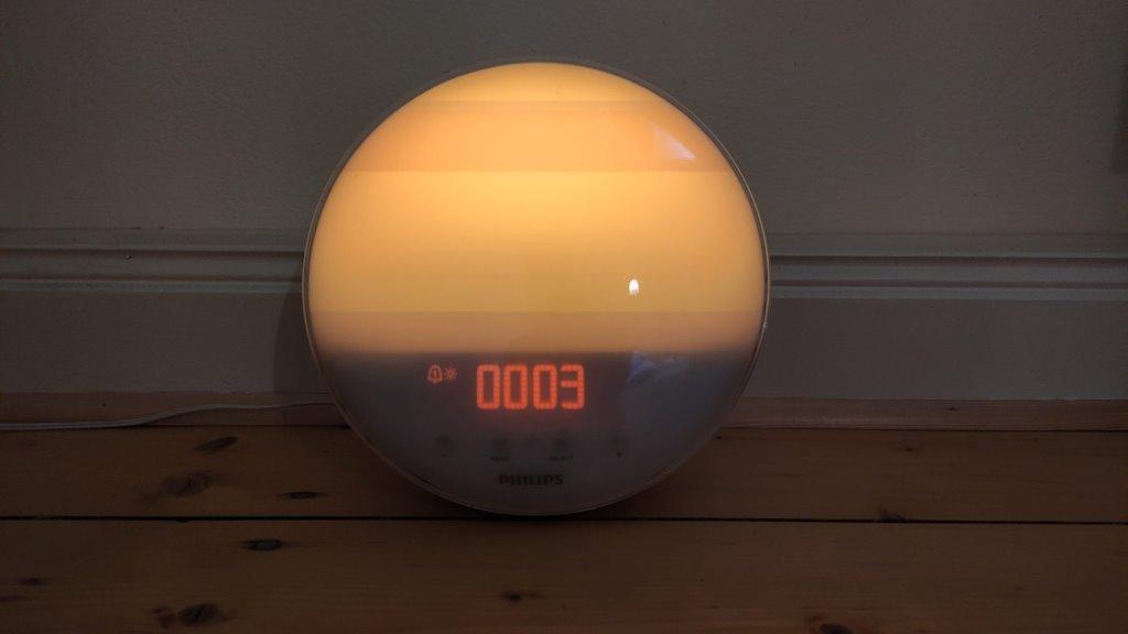 Daylight alarm clock Philips Wake-Up Light