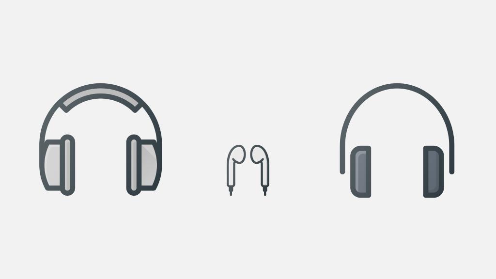 Over-Ear, Earbuds und On-Ear Kopfhörer