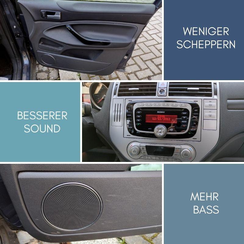 Mit Schalldämmung den Klang im Auto verbessern